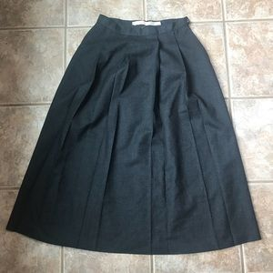 Brooks Brothers Pleated Skirt